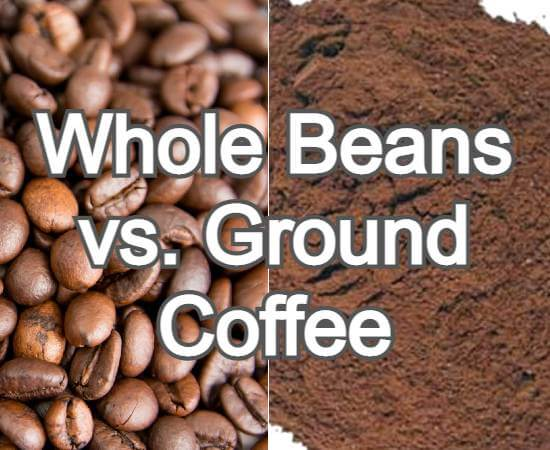 Whole Beans vs. Ground Coffee